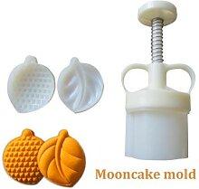 Moule à gâteau de lune en forme de mangue,