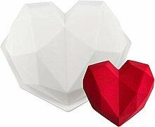 Moule À Gâteau en Forme De Coeur en Silicone,