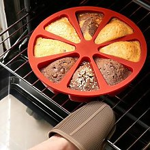 Moule à gâteau en Silicone 3D à 8 cavités,