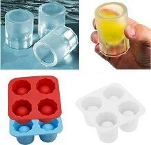 Moule à glaçons pour verres à glace, bac à