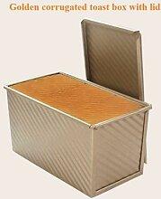 Moule à pain antiadhésif avec couvercle, boîte