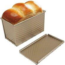 Moule à pain antiadhésif en acier au carbone,