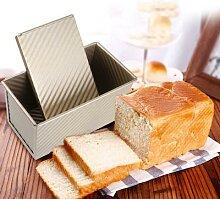 Moule à pain rectangulaire en acier au carbone