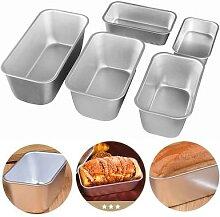 Moule à pain rectangulaire en Aluminium, 5