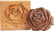 Moule à pâtisserie en bois pour décoration de