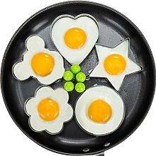 Moule à œufs frits en acier inoxydable,