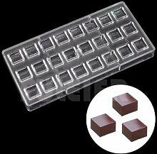 Moule de pâtisserie à chocolat en Polycarbonate,