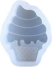 Moule en silicone en forme de cône de fromage,