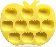 Moule en silicone en forme de pomme