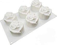 Moule en silicone Evazory pour gâteaux, roses,
