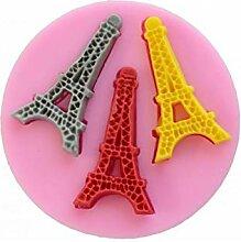 Moule en silicone Tour Eiffel Paris Dentelle Moule