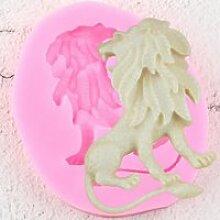 Moule,Moule 3D Lion Silicone pour animaux