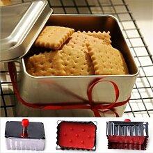 Moules à biscuits de forme classique en acier