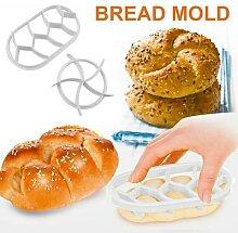 Moules à pain ovales classiques ronds,