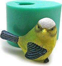 Moules En Silicone Pour Oiseaux 3D, Moule En