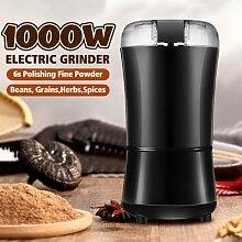 Moulin à café électrique 1000W, avec lames en