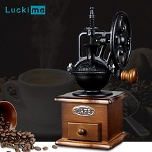 Moulin à café en bois Vintage classique, Style
