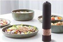 Moulin à poivre électrique, poivre noir, poivre