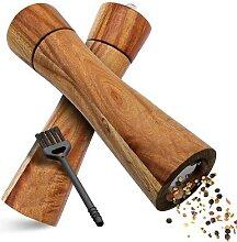 Moulin à poivre en bois, fabrication Noble,
