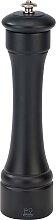 Moulin à poivre en bois noir mat H22cm
