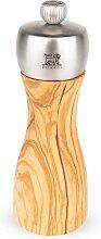 Moulin à poivre manuel en bois d'olivier et