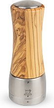 Moulin à poivre manuel en bois d'olivier H16cm