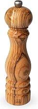 Moulin à poivre manuel en bois d'olivier H22cm