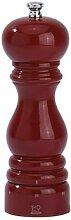 Moulin à poivre Paris laqué rouge US 18 cm