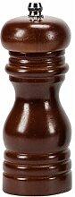 Moulin à poivre/sel en bois 12 cm