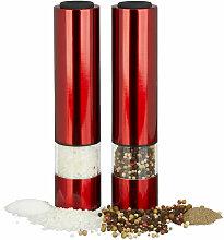 Moulin à sel électrique, poivre, épices,