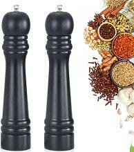 Moulin à sel et à poivre en bois, à épices, à