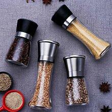 Moulin à sel et à poivre manuel en acier