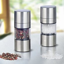 Moulin à sel et poivre manuel Simple en acier