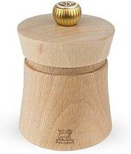 Moulin à sel manuel en bois naturel Baya 8 cm