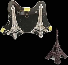 Moulle Tour Eiffel 3D Forme Chocolat Moule Cookie