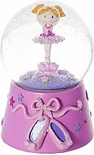 Mousehouse Gifts Boule à Neige Musicale Rose