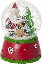Mousehouse Gifts Boule à Neige Noël Musicale et