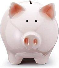 Mousehouse Gifts Pink Pig Tirelire en forme de