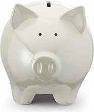 Mousehouse Gifts Tirelire Cochon Blanc Taille M