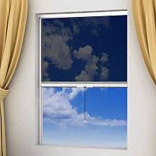 Moustiquaire enroulable blanche pour fenêtre 60 x