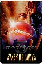 Movie Babylon 5 The River of Souls Affiche vintage