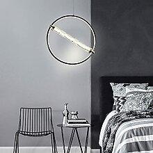 MQQ Lustre Moderne Et Simple, LED Pendentif De