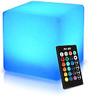 Mr.Go 40cm Étanche Cube Lumineux LED Tabouret