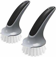 MR.SIGA Brosse de nettoyage pour vaisselle, plats,
