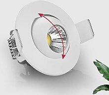 Mrdsre Panneau 3W Spot LED intégré Mini