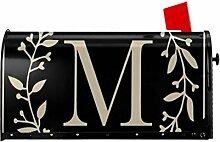 MSGUIDE Housse magnétique pour boîte aux lettres