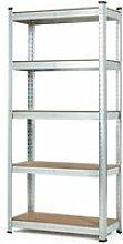 Mstore - étagère de garage en métal -