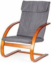 Mstore - fauteuil à bascule de style moderne pour