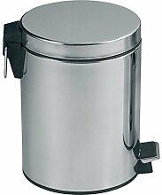 MSV 100440 Poubelle INOX Miroir 20 litres,