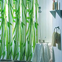 MSV 140122 Bambou Rideau de Douche Polyester